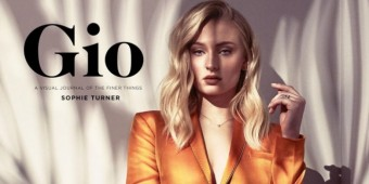 Sophie Turner para a Gio Journal